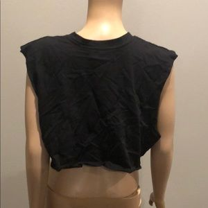 Emma & Sam Tops - LF Emma and Sam Phoenix Crop Top Black